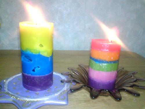 Как сделать самодельную свеч