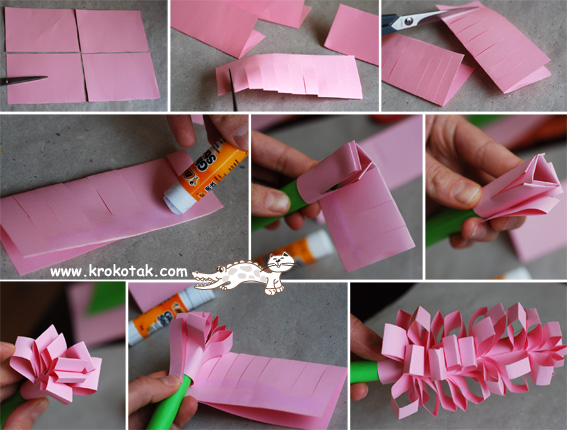 Сделать подарок на день рождения из бумаги