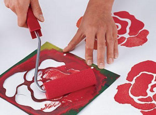 Как сделать узор на ткани своими руками 10
