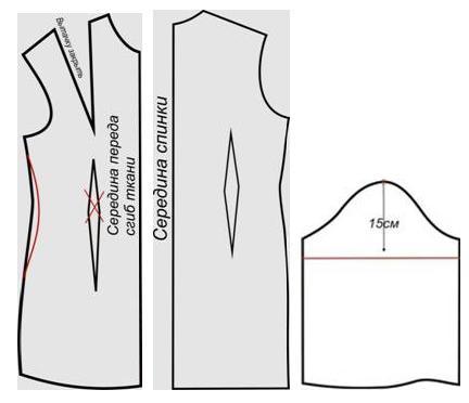 Платье с воротничком1