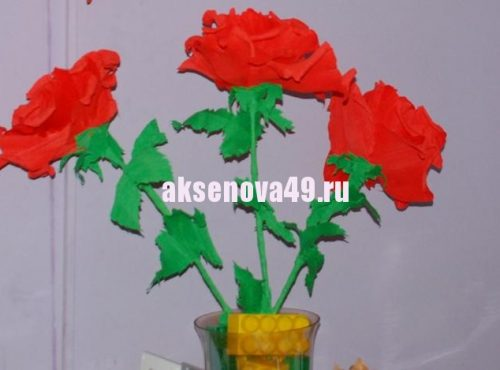 сделать розу1