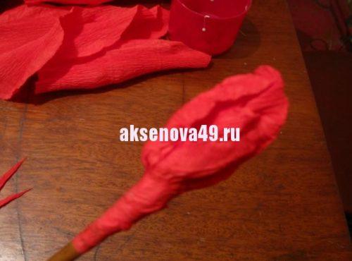 сделать розу12