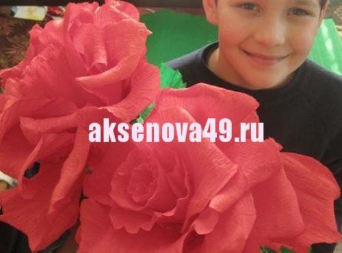 сделать розу16