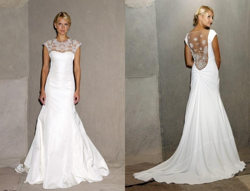 Свадебное платье на очень худую