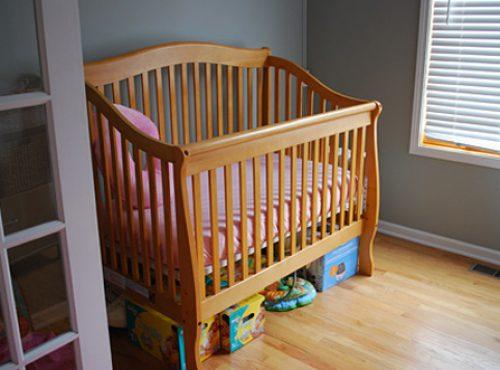 Подзор для детской кроватки1