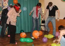 Веселые конкурсы для детей с шарами
