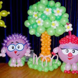 украсить детский праздник