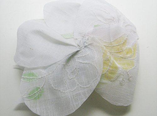 цветок из ткани15