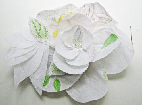 цветок из ткани19