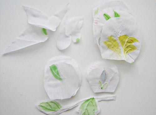 цветок из ткани2