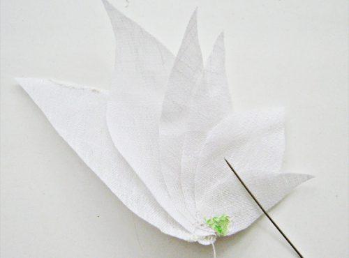цветок из ткани4