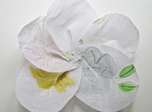 цветок из ткани8