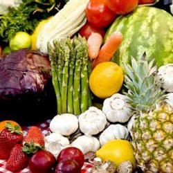 Роль свежих плодов и овощей в питании