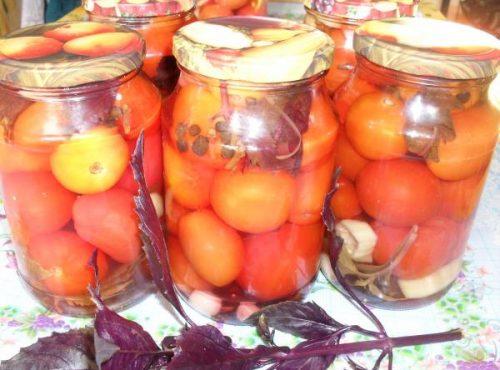 Рецепт маринованных помидоров