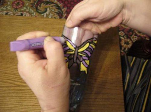 бабочки из пластиковой бутылки 3