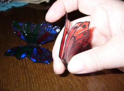 бабочки из пластиковой бутылки 6