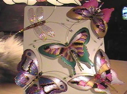бабочки из пластиковой бутылки 7