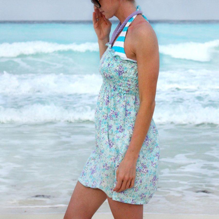 Летние пляжные сарафаны своими руками 55