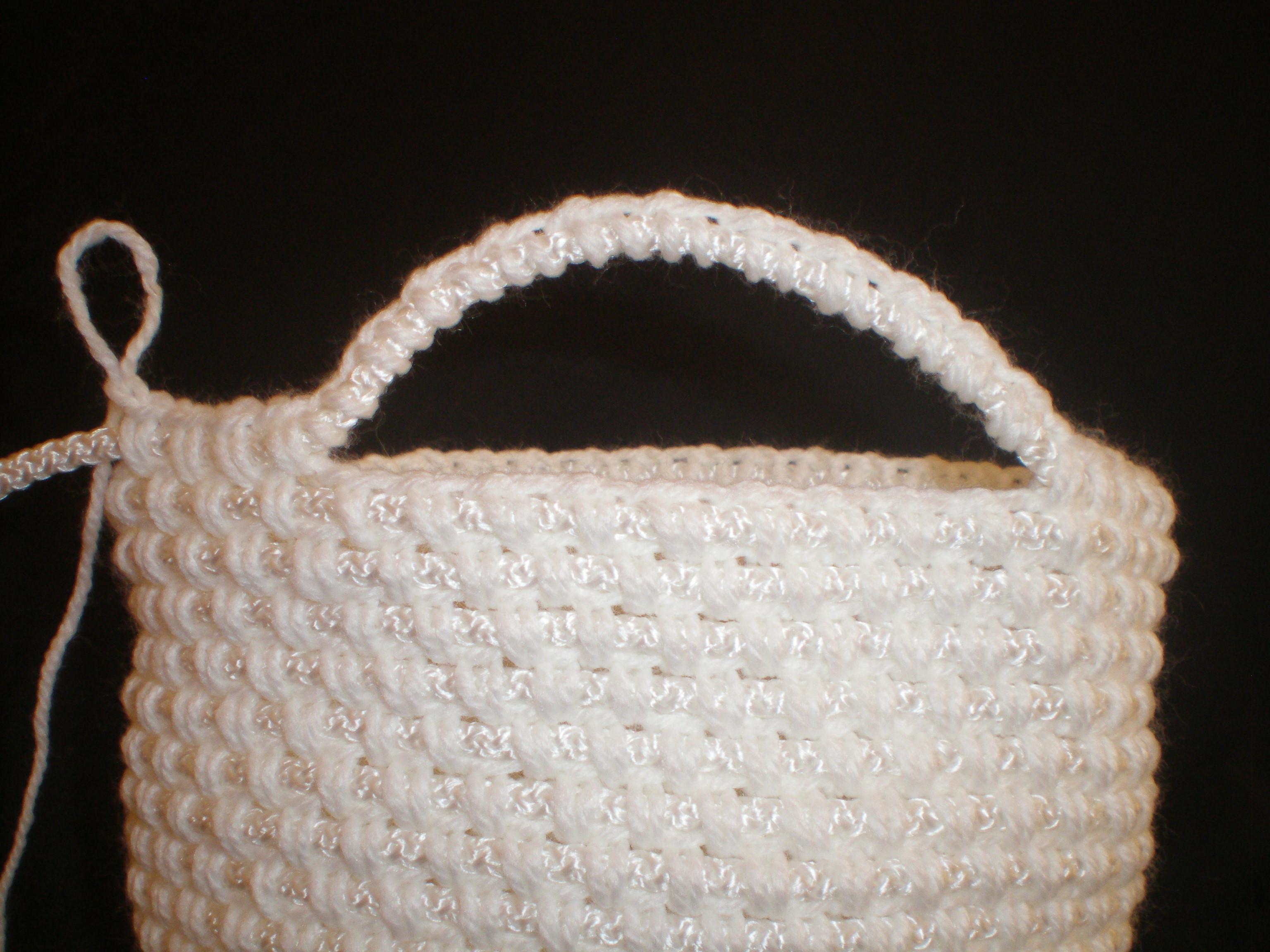 схема овального дна сумки вязаного крючком