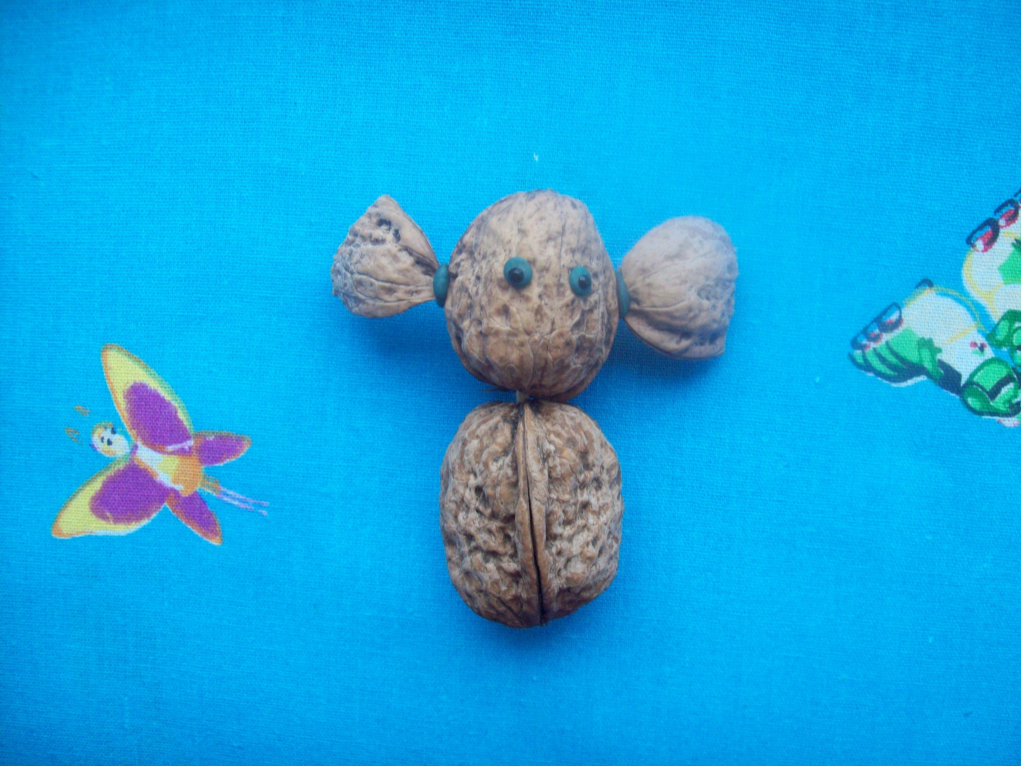 Поделки с орехов своими руками