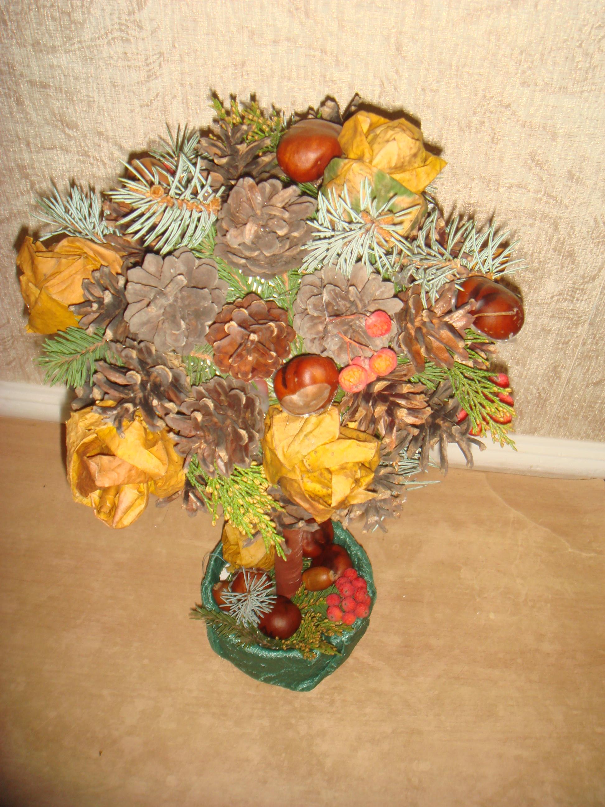 Осенний топиарий3