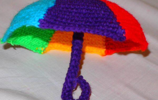 как связать зонтик для барби крючком