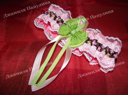 Подвязка для невесты9
