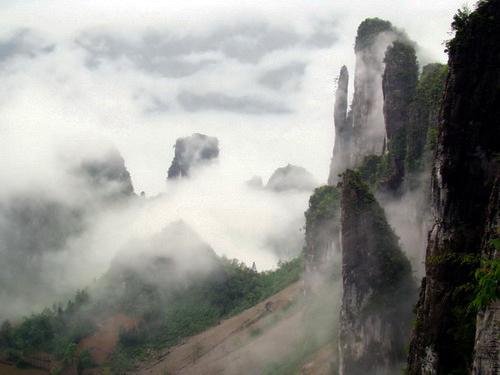 Каньон Эньши, Провинция Хубэй