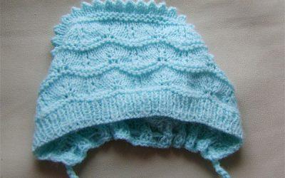 Детская шапочка спицами для девочки