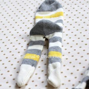 Обезьянка из носков