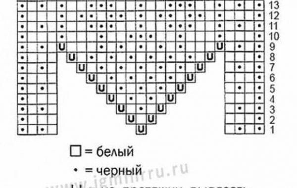 тапочки схемы и описание